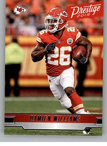 buy online 4f2c0 89a83 Amazon.com: 2019 Prestige NFL #45 Damien Williams Kansas ...