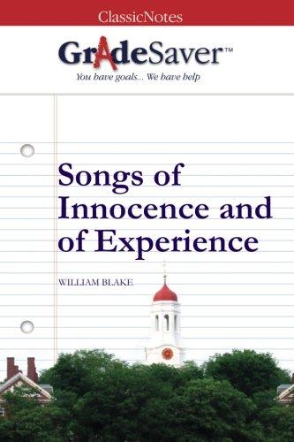 william blake songs of innocence poems
