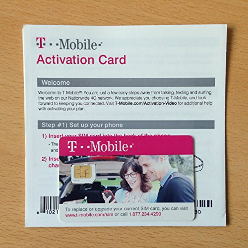 T-Mobile Micro SIM Card Activation Kit - New by T-Mobile