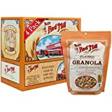 Bob's Red Mill Classic Whole Grain Granola, 12-ounce (Pack of 4) (Package May Vary)