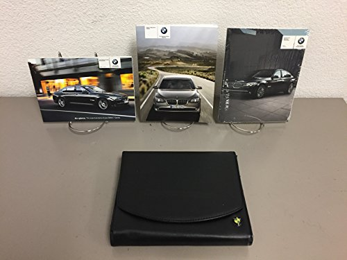 FACTORY BMW OWNER'S MANUAL SET FOR ALL 2012 BMW 7-SERIES MODELS