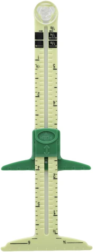 5-IN-1 Sliding Gauge Measuring Sewing Tool S//L P2G1