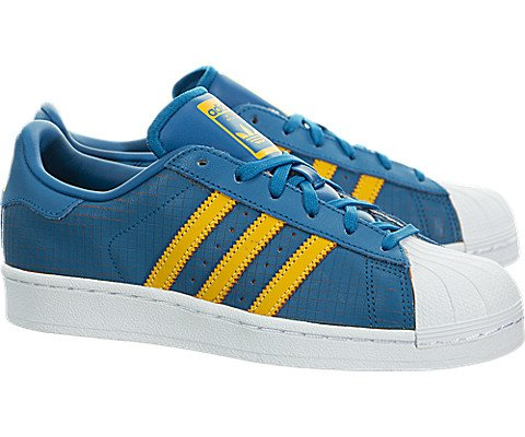 Adidas Superstar Youth US 6.5 Blue Sneakers by adidas Originals