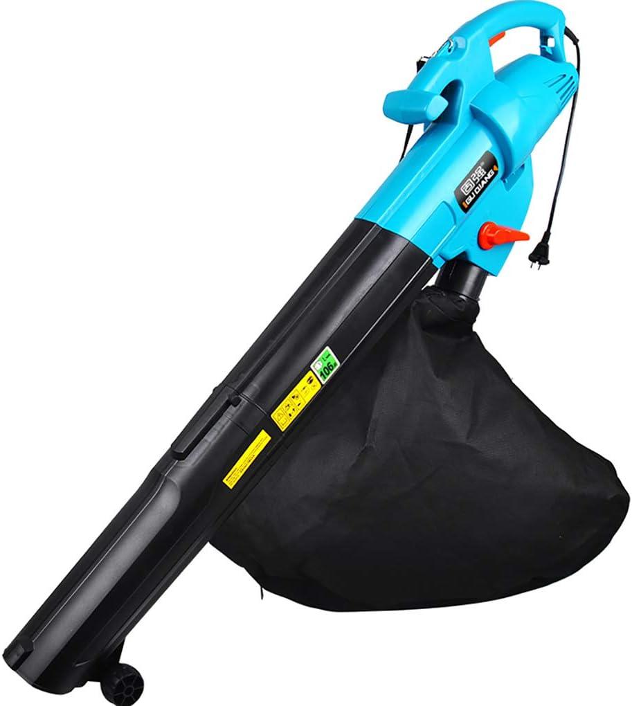 Práctico Soplador/Aspirador De Hojas Eléctrico Ventilador De La Máquina De Succión Trituradora Aspiradora De Alta Potencia De Eliminación De Polvo Soplado Y Aplastamiento Eficiente 3000W: Amazon.es: Hogar