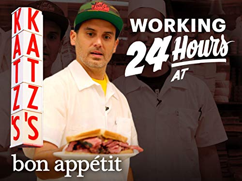Working 24 Hours Straight at New York's Most Iconic Deli