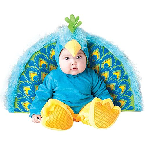 Precious Peacock Baby Infant Costume - Infant Medium