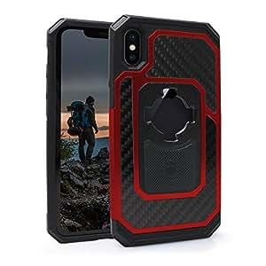 RokForm Fuzion Pro Case - iPhone X - Red