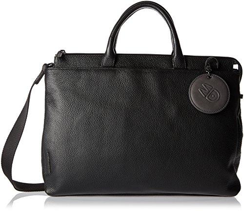 Mandarina Duck Mellow Leather Tracolla - Borse A Spalla Donna Nero 14x28x38 Cm b X H T