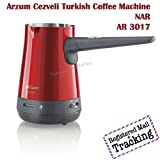 Arzum Cezveli Turkish Coffee Maker AR3017 Nar RED Color