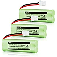 3-Pack iMah Ryme B6 BT183482 BT283482 Ni-MH Cordless Phone Battery for Vtech DS6401 DS6421 DS6422 DS6472 LS6405 LS6425 LS6426 LS6475 LS6476 89-1348-01 DECT 6.0 Home Handset Telephone