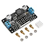 DROK LM2596 Digital Control Voltage Regulator DC Buck Converter Power Supply with Screw 5-32V to 0-30V 24V to 12V 5V
