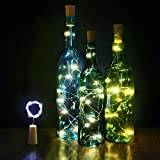 Innozon Wine Bottle Light Cork Lights 4.26ft/1.3m 15 LEDs Copper Wire Starry ...