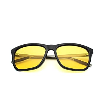 FKSW Gafas De Sol Hombres Gafas De Sol Polarizadas De Conducción Nocturna Lentes De Visión Nocturna