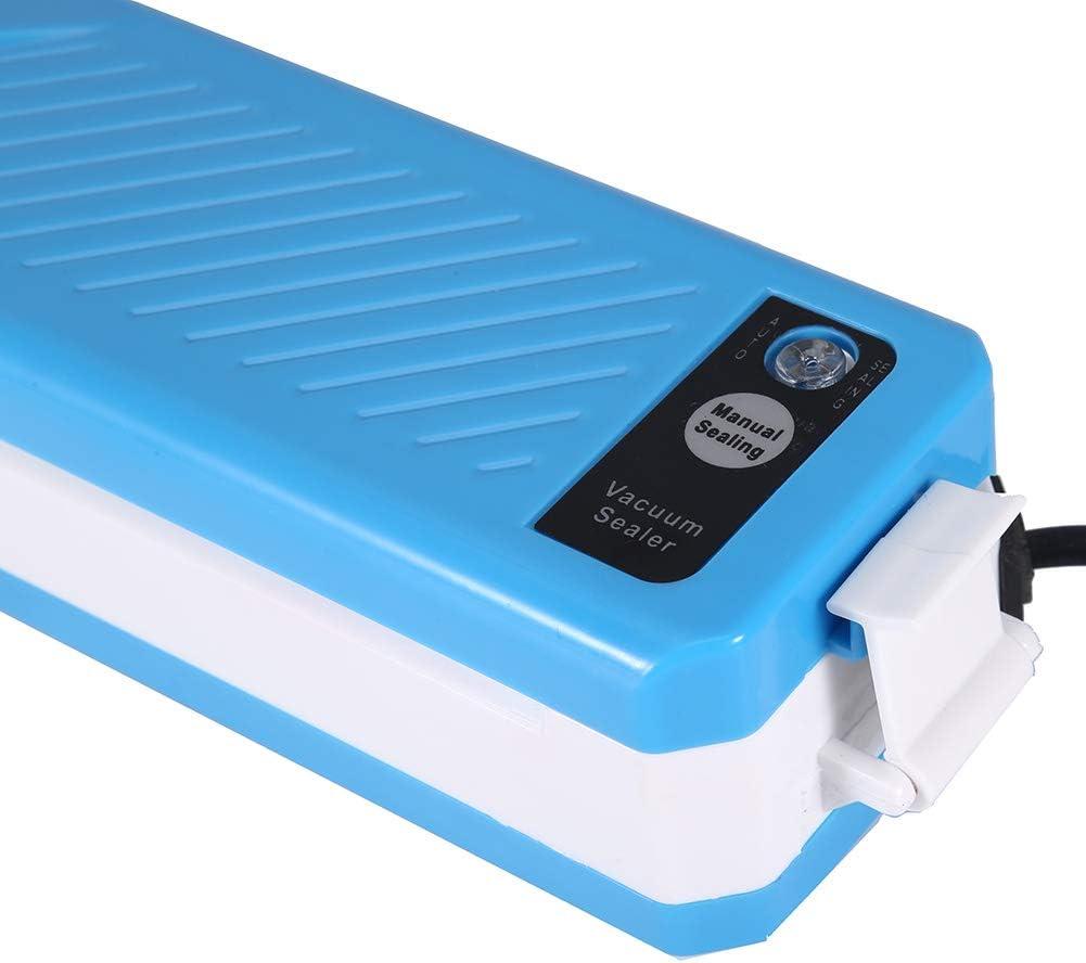 KitchenBoss Envasadora M/áquina Selladora de Vac/ío para Alimentos Secos y H/úmedos Preservaci/ón Sistema de Sellado Autom/ático por Vac/ío