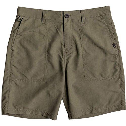 Quiksilver Men's Tactics Amphibian Hybrid 19 Short, Olivine, 38 (Shorts Lightweight Quiksilver)