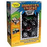 Creativity for Kids Monster Truck Custom Shop - Customize 2 Monster Trucks