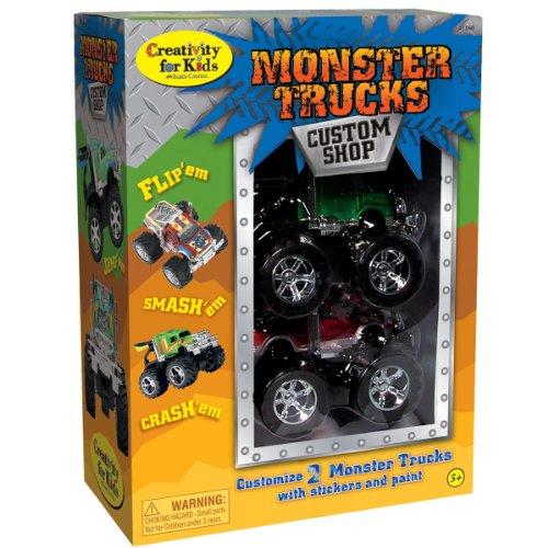 Creativity for Kids Monster Trucks Custom Shop (2-Pack) (Monster High Customs)
