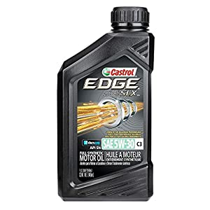Castrol 06159 EDGE 5W-30 C3 Advanced Full Synthetic Motor Oil, 1 quart