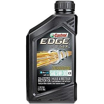 castrol 06159 edge 5w 30 c3 advanced full synthetic motor oil 1 quart automotive. Black Bedroom Furniture Sets. Home Design Ideas