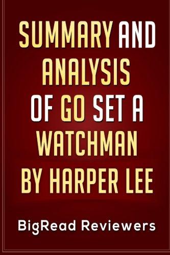 Download Summary & Analysis of Go Set a Watchman: by Harper Lee pdf epub