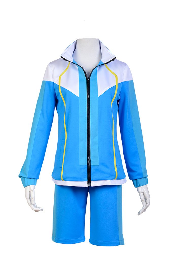 Free! Iwatobi Swim Club School Uniform Cosplay Kostüm Herren Blau XL