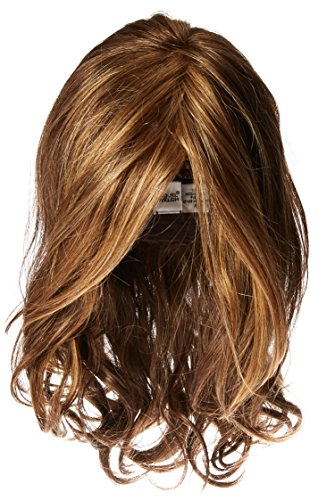 Hairdo Love Love Love Collection Long Full Length Straight Hair With Soft Natural Wave Highlights, R9F26 Mocha Foil by HairDo