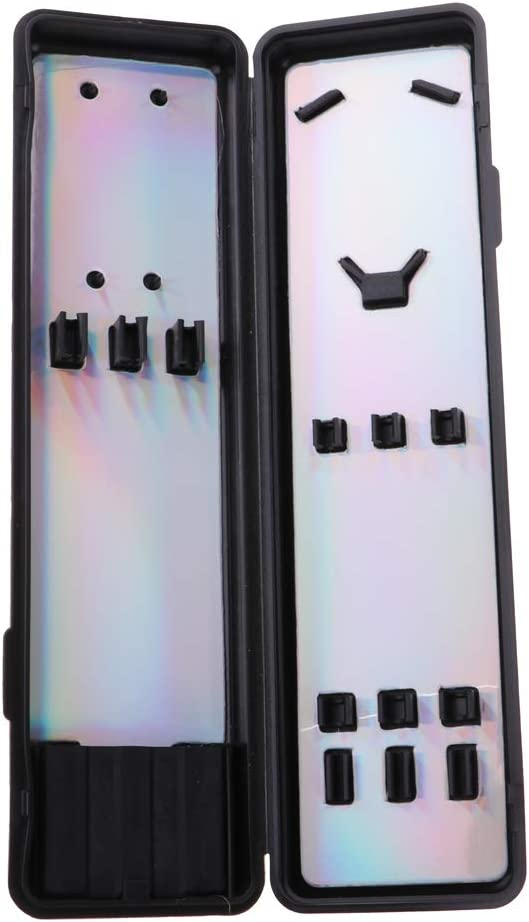 Kunststoff Dartkoffer ohne Inhalt Darttasche Dartbox Dartcase Darts Tasche