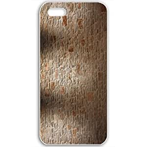 Diy Yourself Apple iPhone 5 5S case covers Customized Gifts Of 3D Graphics Brick Wall FDAwqMfwujv And Wood Floor 3d Abstract Black