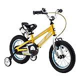 Royalbaby Space No. 1 Kids' Bike, Perfect Gift for Kids, 12 inch wheels, Yellow