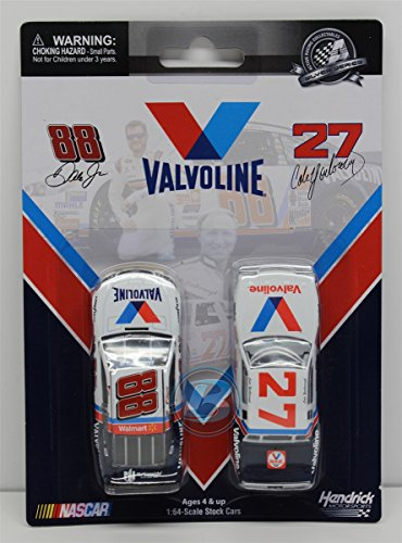 Cale Yarborough Nascar (Cale Yarborough 1982 Valvoline & Dale Earnhardt Jr 2015 Valvoline 2 Pack 1:64 Nascar Diecast)