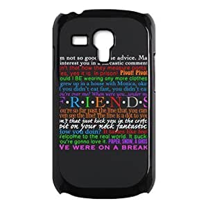 Custom Best Friends Protective Hard PC Back Fits Cover Case for Samsung Galaxy S3 SIII Mini i8190