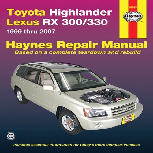 toyota-highlander-lexus-rx-300-330-1999-thru-2007-written-by-john-haynes-2010-edition-reprint-publis