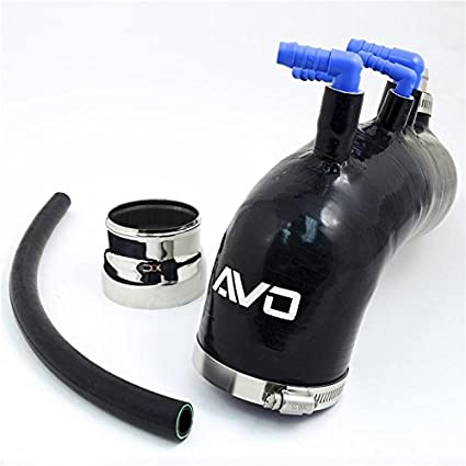 AVO S1B07G41BBLKJ Induction Silicone Turbo Inlet-Legacy GT (/ 08+ Wrx 07-