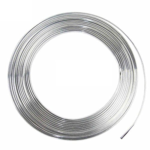 6M Chrome Silver Car Body Door Edge Moulding Trim Strip Scratch Guard Protector Air Conditioner by Single Mom