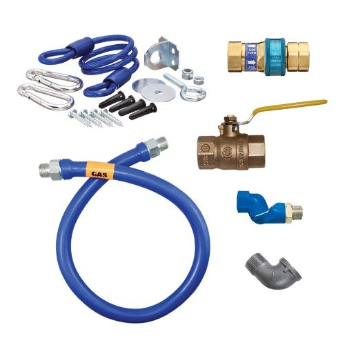 Dormont 1650KIT36PS Safety System Moveable Gas Connector Kit