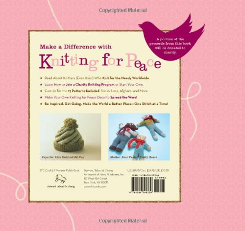 Knitting for Peace: Make the World a Better Place One Stitch at a Time by Brand: Stewart, Tabori and Chang (Image #1)