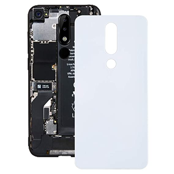 new arrival 5682a c7ab4 Amazon.com: iPartsBuy Replacement Back Cover for Nokia 5.1 Plus (X5 ...