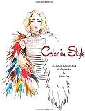 Amazon OOTD Fashion Flat Lay Coloring Book