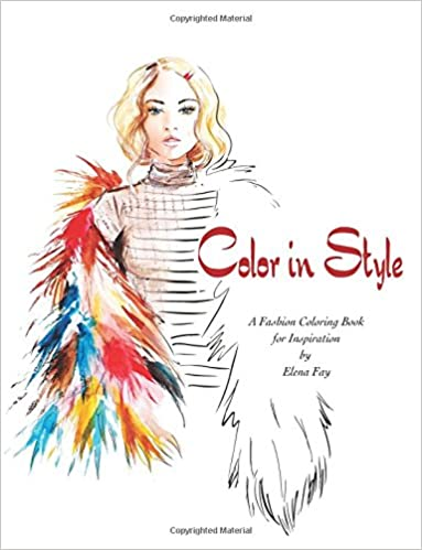 Amazon.com: Color in Style: Fashion Coloring Book (9781544996424 ...