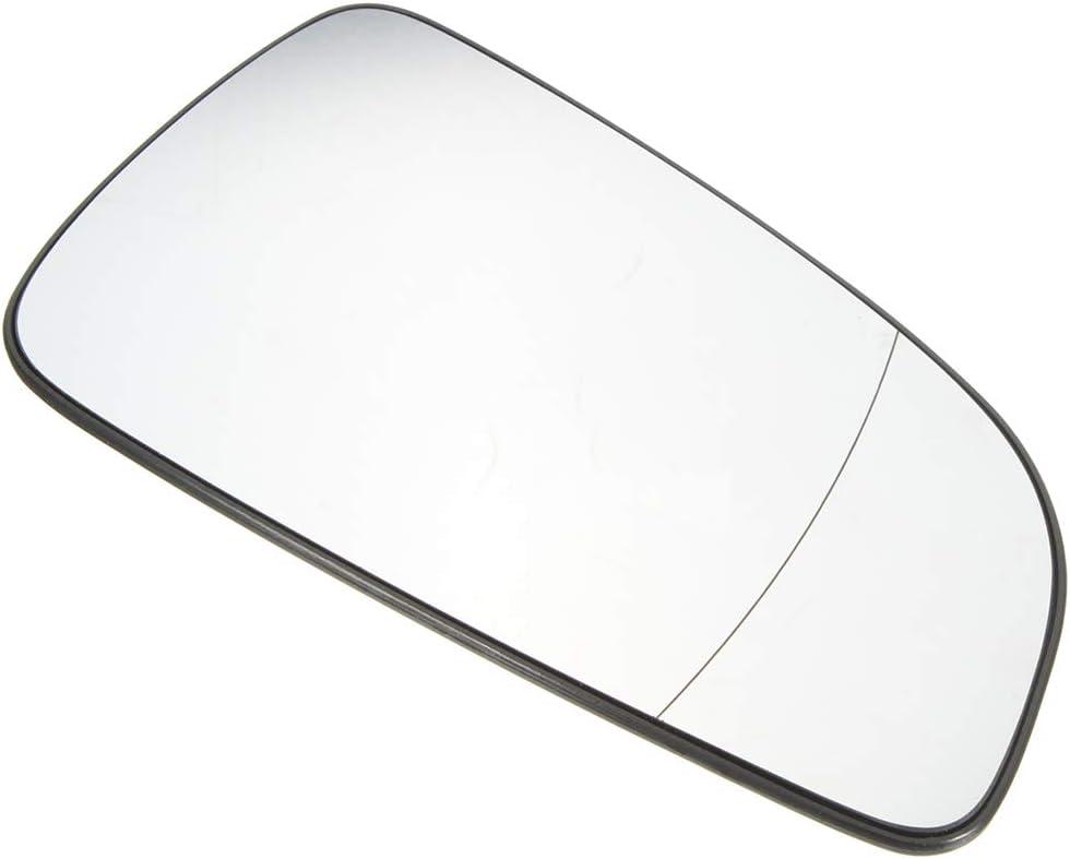 c/ôt/é conducteur Chauffant R/étroviseur lentille en Verre Miroir de Remplacement pour Astra H MK5 2004-2008 Yihaifu Droit