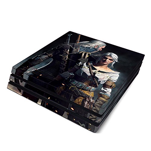 Decorative Video Game Skin Decal Cover Sticker for Sony PlayStation 4 Pro Console PS4 Pro - Witcher 3 Wild Hunt