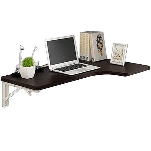 Mesa de pared de pared Mesa plegable del escritorio del ordenador ...