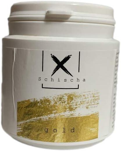 NaRm Shisha color Xschischa 50 g polvo color oro Sparkle