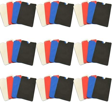 Ausweise und Reisepass RFID /& NFC Schutzh/üllen Schutz vor Identit/äts- und Datendiebstahl Extra robuste H/üllen f/ür Kreditkarten EC-Karten Amaoma 40 St/ück RFID Schutzh/üllen NFC Blocker Mischfarbe
