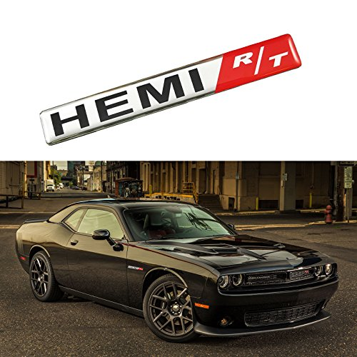 Xotic Tech 1x HEMI RT R/T Badge Aluminium Emblem Decal for sale  Delivered anywhere in USA