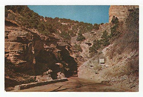 (Narrows on Road to Cave of the Winds, Colorado Springs, Colorado Vintage Original Postcard #3597 -)