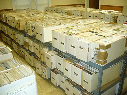 Lot of 1000 Random Comics - no duplication - wholesale lot - Marvel DC