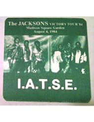 1984 8/4 Michael Jackson Backstage Pass New York I.A.T.S.E.