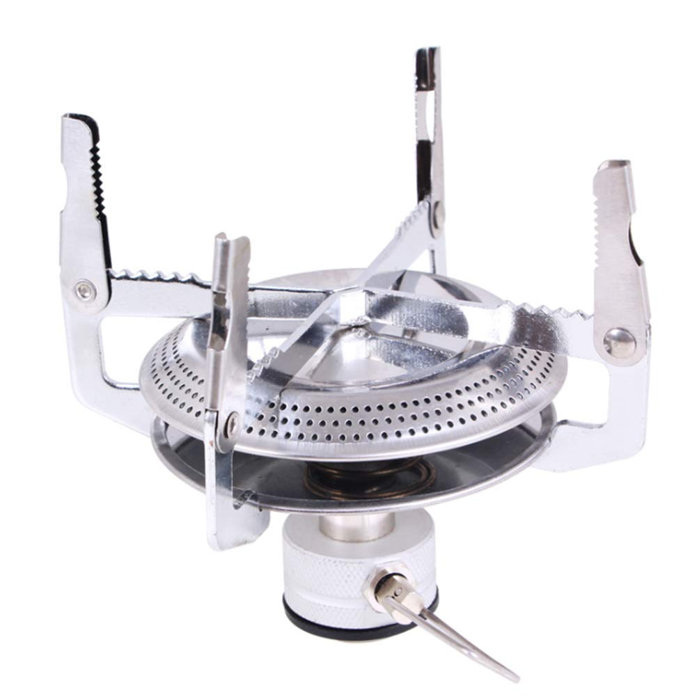 w70anFUyjn Camping Stove Alcohol Burner Stove Portable Stainless Steel Burning Stove Cross Stand and Fire Cover for Hiking Traveling Picnic BBQ