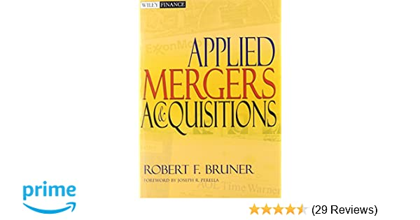 Applied mergers and acquisitions textbook and student workbook applied mergers and acquisitions textbook and student workbook robert f bruner joseph r perella 9780470619469 amazon books fandeluxe Gallery